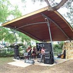 sound shell at Bellingen Community Markets